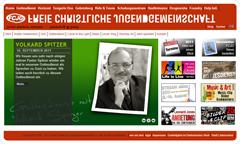 Pastor Spitzer bei der FCJG (Walter Heidenreich)